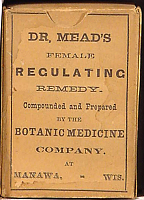 Dr. Mead's Female Regulating Remedy