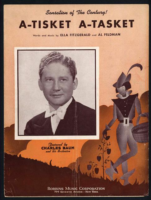 """Image for Sheet Music, """"A-Tisket A-Tasket"""""""