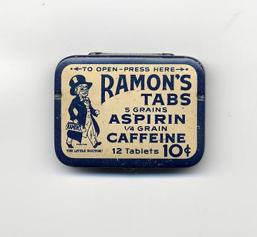 Ramon's Tabs Aspirin Caffeine