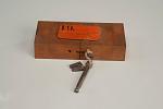Patent model for fastening wood blocks for engravers