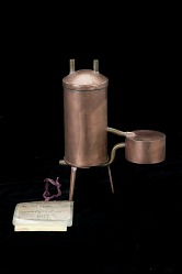 Lawler's Patent Model of a Hot Water Heater - 1877