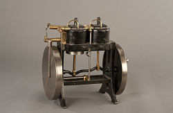 Wiegand's Patent Model of a Gas Engine – ca 1864