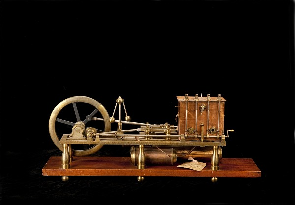 Stuart Perry Gas Engine Patent Model