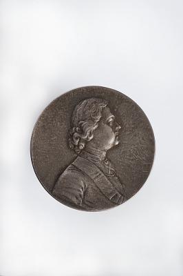 Peter I Uniface Medal, Jeton