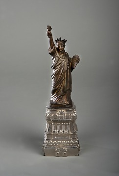 Statue of Liberty souvenir, New York, New York, 1885