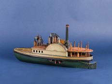Patent Model for Steering Steam Ships
