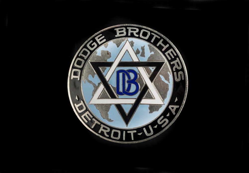 dodge emblem star of david Dodge Brothers Radiator Emblem  National Museum of American History