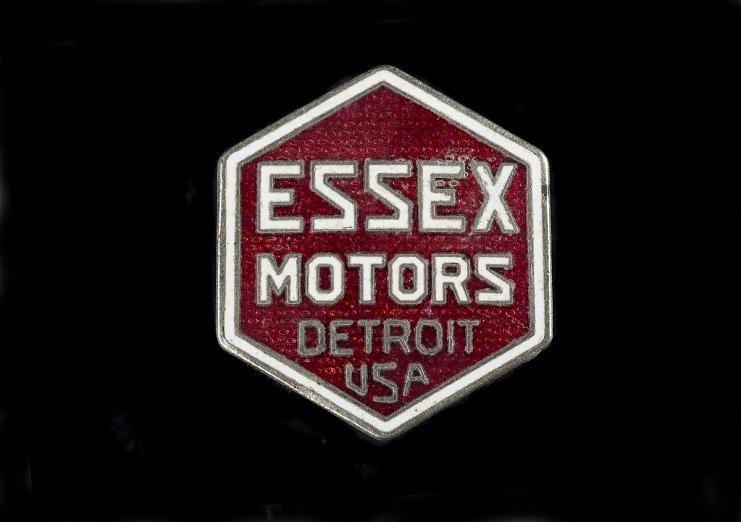 Essex Motors Manufacturer's Emblem