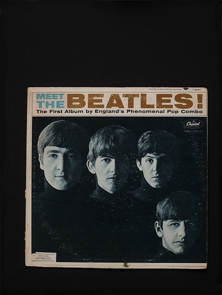 Image for sound recording: Meet The Beatles!