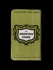 Esquire Club Credit Card, United States, 1957