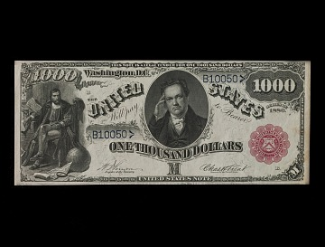 1,000 Dollars, Legal Tender Note, United States, 1880