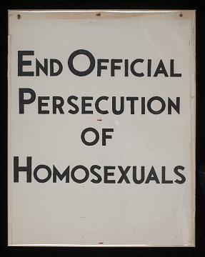 End Official Persecution of Homosexuals