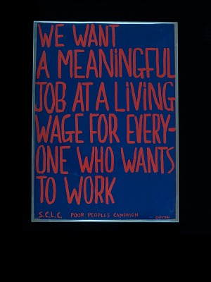 Poster, SCLC Poor People's Campaign, 1968