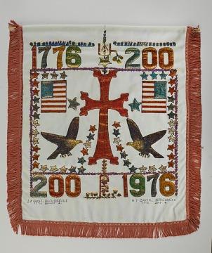 Armenian-American Bicentennial Banner, 1976