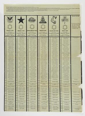 Blanket Ballot, 1896