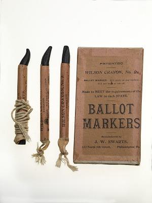 Ballot Markers, 1908