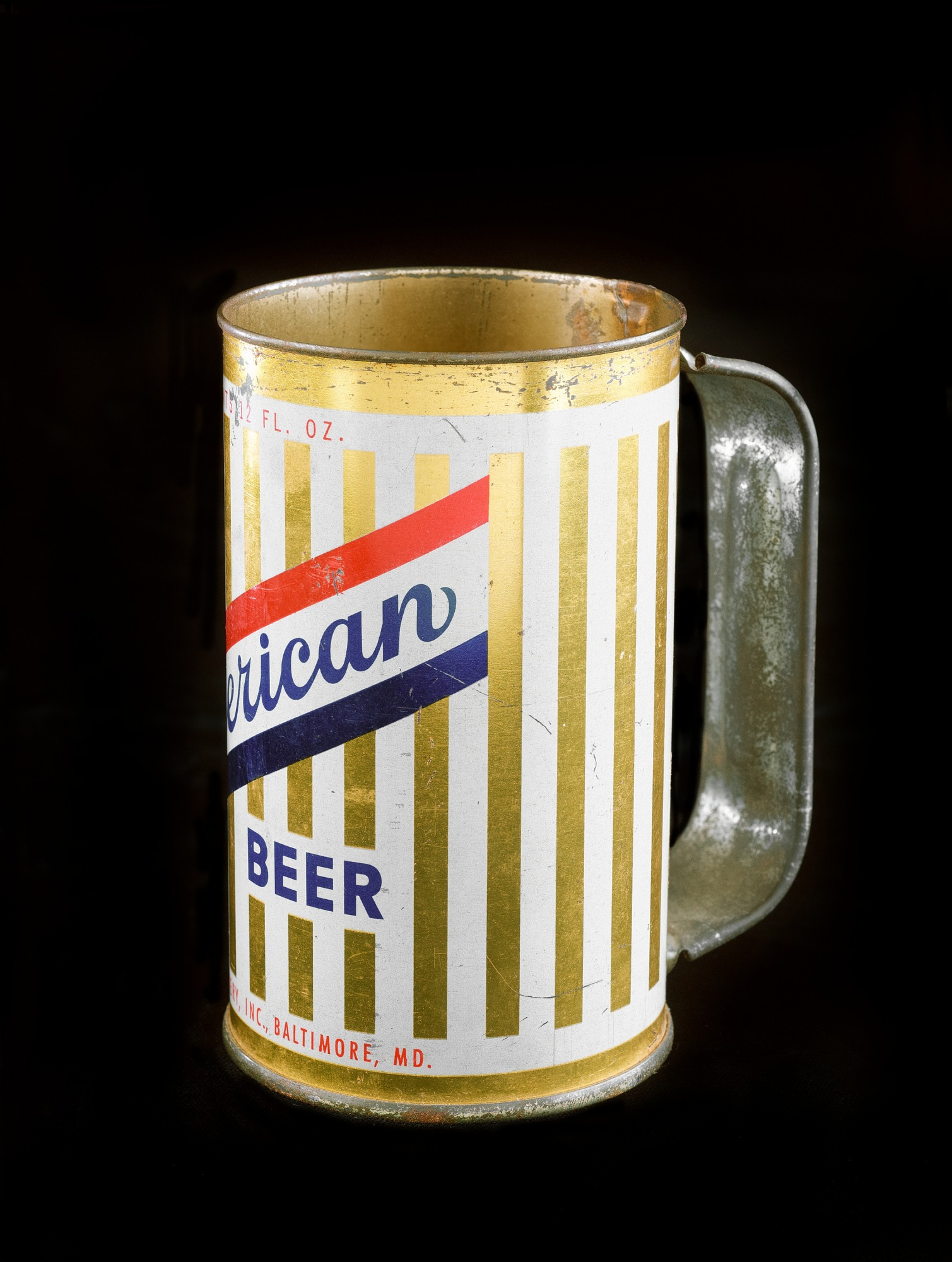 images for American Beer Can with Handle