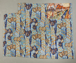 """Arapaho"" dress silk; Mallinson's American Indian series"