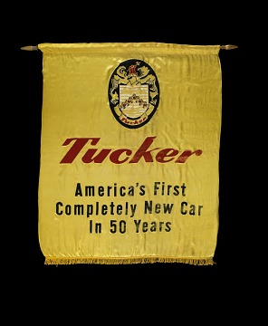 Tucker automobile banner