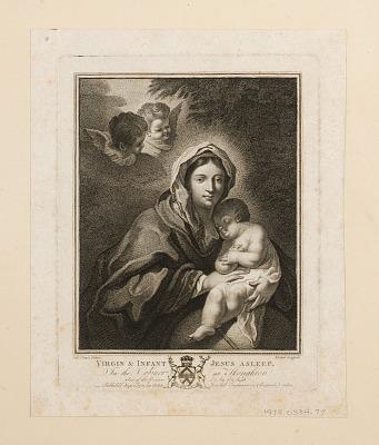 Virgin and Infant Jesus Asleep