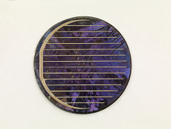 p-type multi-crystal solar cell for terrestrial use
