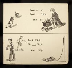 Dick and Jane Teaching Chart