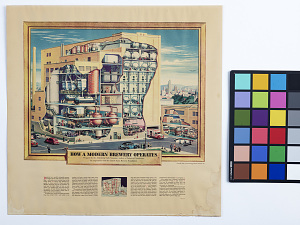 """images for Advertising Print, """"How a Modern Brewery Operates,"""" 1948-thumbnail 2"""