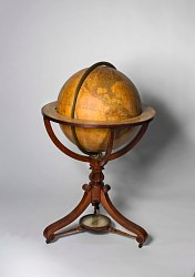 """Newton's New and Improved Terrestrial Globe"""