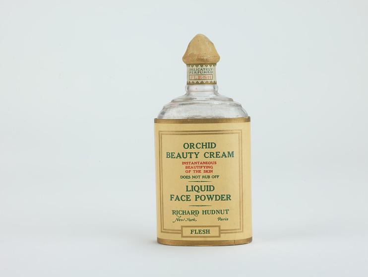 Richard Hudnut Orchid Beauty Cream, Liquid Face Powder, Flesh