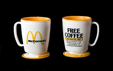 McDonald's Coffee Travel Mug