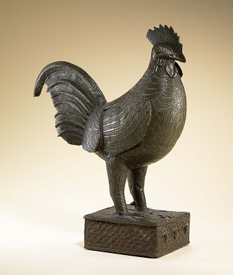 Figure of a rooster
