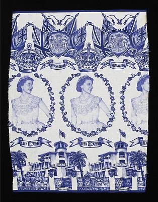 Factory printed cloth