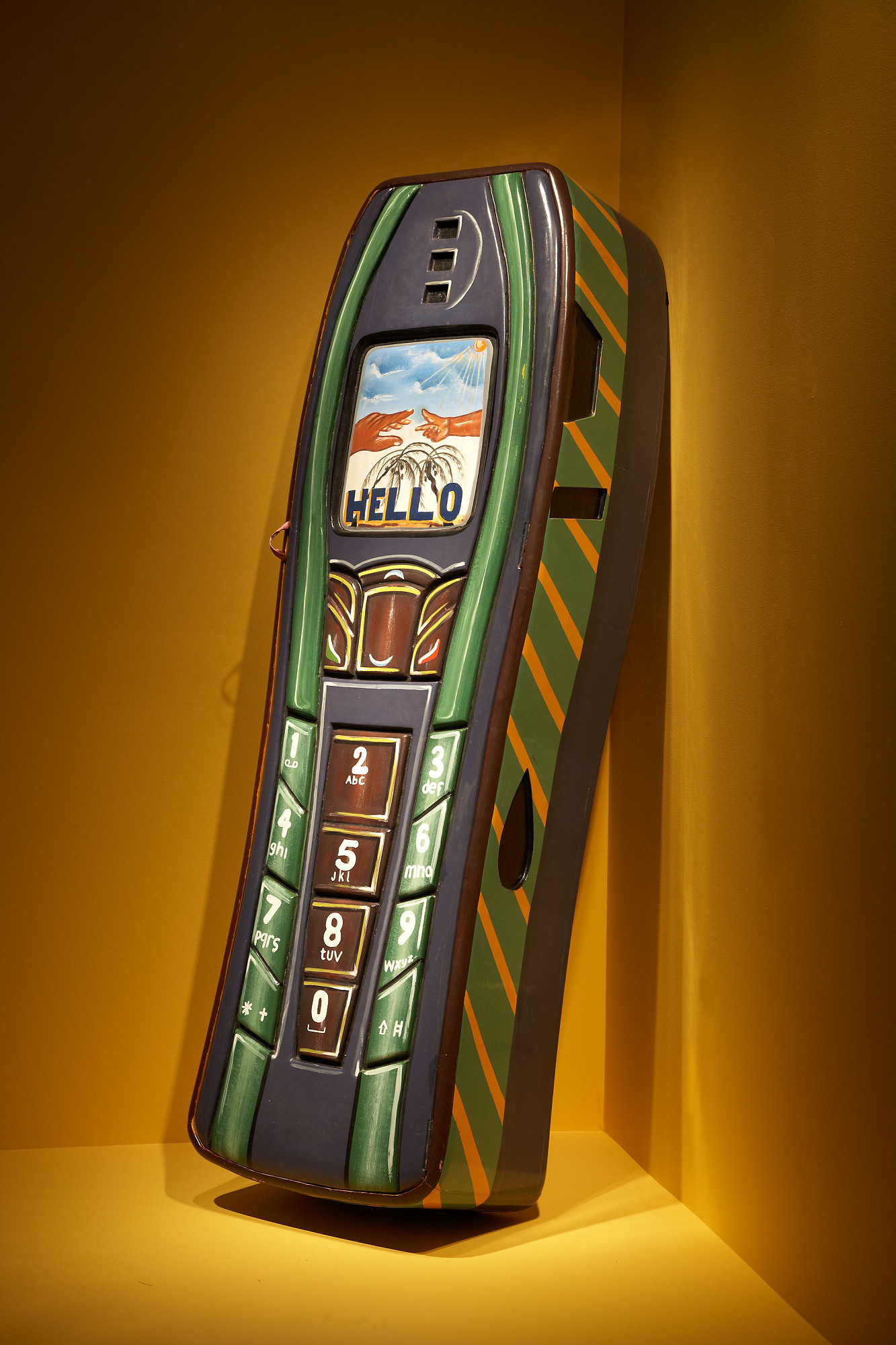 images for <I>Nokia cell phone coffin</I>