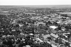 A view of the city, Lubumbashi, Congo (Democratic Republic), [negative]