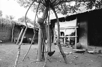 Yoruba family compound, Odo-owa, Nigeria, [negative]