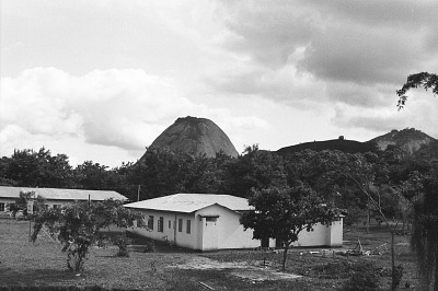 Isolated mountain, near Ado-Ekiti, Nigeria, [negative]