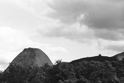 Isolated mountain, near Ado-Ekiti, Nigeria, [negative]