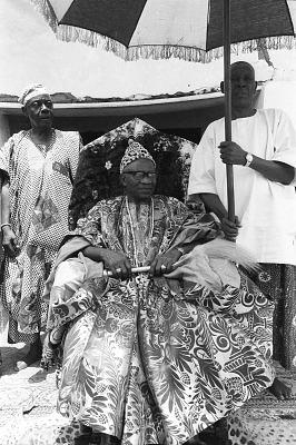 John Adetoyese Laoye I, Timi of Ede, Ede, Nigeria, [negative]