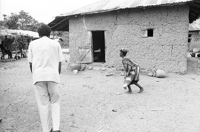 Greetings and salutations in a Yoruba village, near Ife, Nigeria, [negative]