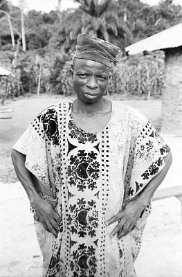 Yoruba man, near Ife, Nigeria, [negative]