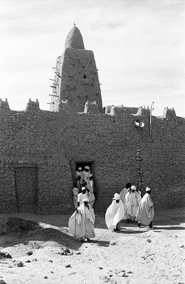 The DjinguereBer Mosque, Tombouctou, Mali, [negative]