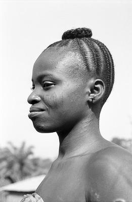 Yoruba woman. Nigeria, [negative]