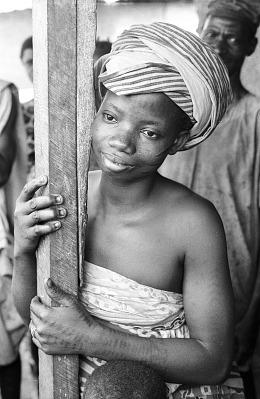 Yoruba Woman. Ibadan, Nigeria, [negative]