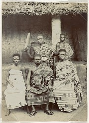 Group portrait of Africans [photograph]