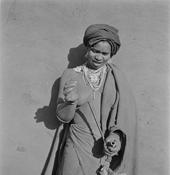 Transkei Woman With Pipe