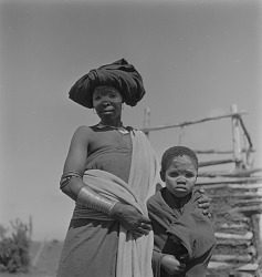 Transkei Woman With Child
