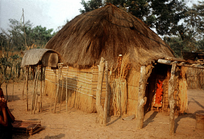 Pende [slide] : [Chief's ritual house at Mbwambwa]