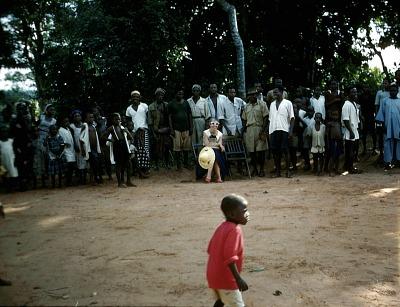 Feast and song festival called Mbe (turtle), Mgbom village, Afikpo Village-Group, Nigeria. [slide]