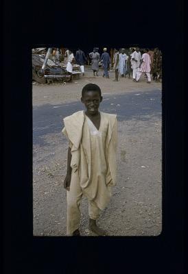 Yoruba Boy on Lebanon St., Ibadan [slide]