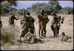 Maasai women with children, Great Rift Valley, Kenya, [slide]